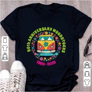 Nice Woodstocks 50th Anniversary Peace Bus 1969 2019 shirt