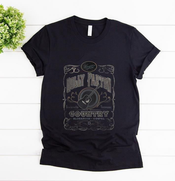 Official Dolly Parton Country Whiskey Label shirt 1 - Official Dolly Parton Country Whiskey Label shirt