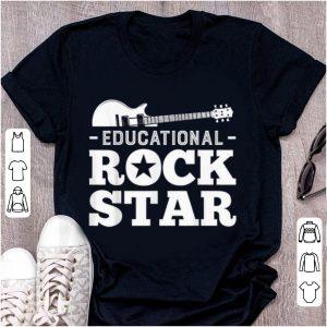 Official Educational Rockstar Rock Guitar shirt