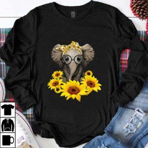 Official Sunflower Headband Elephant shirt