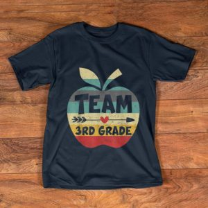 Official Team 3rd Grade Back To Shool Vintage shirt