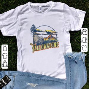 Official Vintage Yellowstone National Park Retro shirt