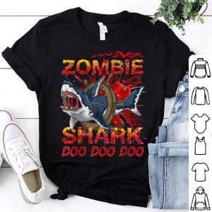 Official Zombie Shark Halloween T-Shirt shirt