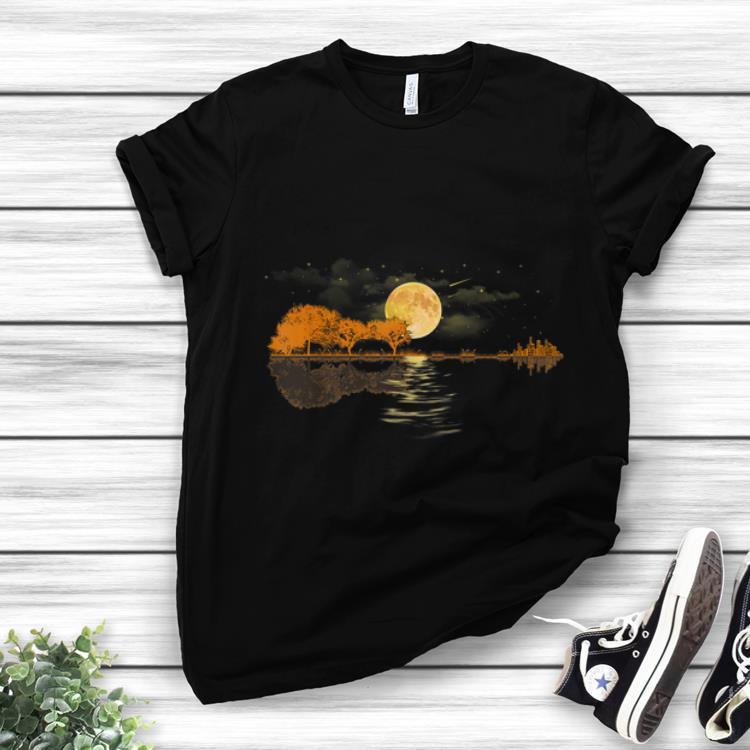 Original Acoustic Guitar Player Guitar Lake shirt 1 - Original Acoustic Guitar Player Guitar Lake shirt