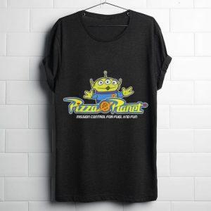 Original Disney Pixar Toy Story Alien Pizza Planet Mission Control shirt