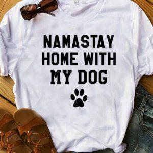 Original Mamastay Home With My Dog shirt