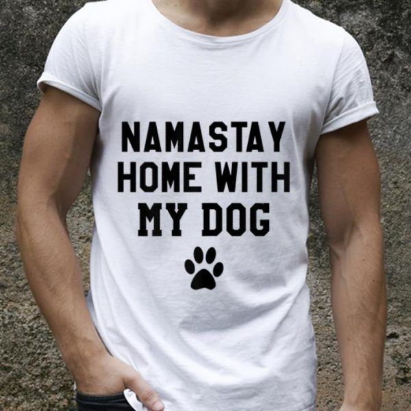 Original Mamastay Home With My Dog shirt