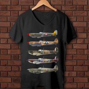 Original Supermarine Spitfire Fighter WWII shirt
