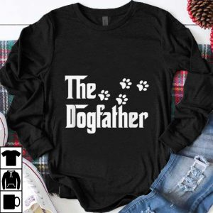 Original The Dogfather Dog Paws shirt