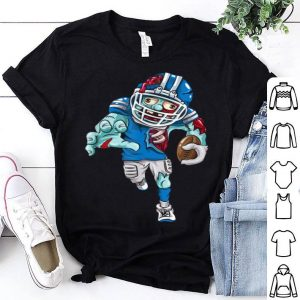 Premium American Football Zombie Halloween Gift Running Back shirt