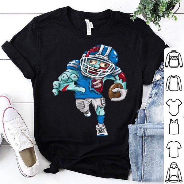 Premium American Football Zombie Halloween Gift Running Back shirt