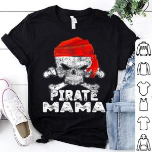 Premium Cool Skull Funny Halloween Pirate Mama Gift shirt