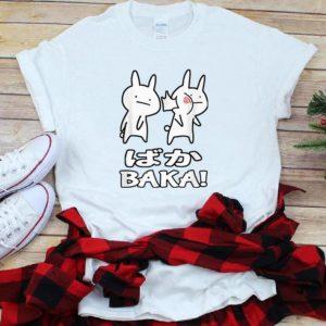 Premium Cute Anime Baka Rabbit Slap shirt