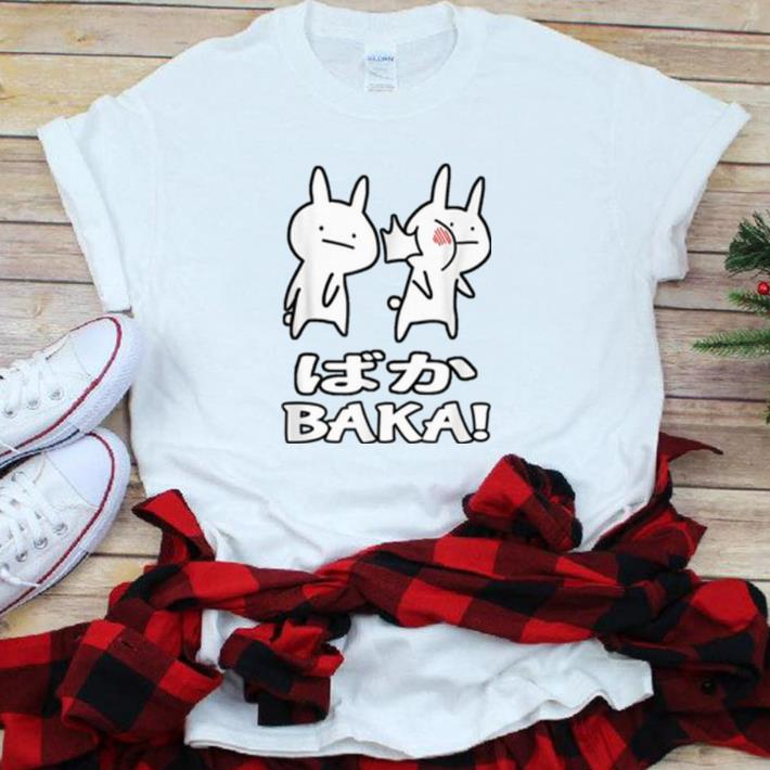 Premium Cute Anime Baka Rabbit Slap shirt 1 - Premium Cute Anime Baka Rabbit Slap shirt