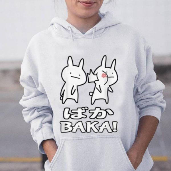 Premium Cute Anime Baka Rabbit Slap shirt
