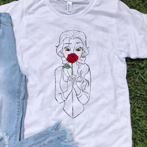 Premium Disney Beauty And The Beast Belle And Rose shirt