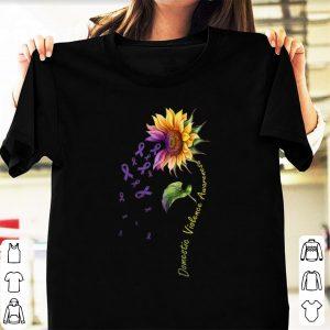 Premium Domestic Vilolence Awareness Sunflower shirt