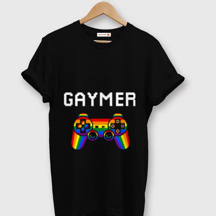 Premium Gaymer Pride Month LGBT Gamer Lover shirt 1 - Premium Gaymer Pride Month LGBT Gamer Lover shirt