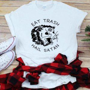 Premium Possum Eat Trash Hail Satan shirt