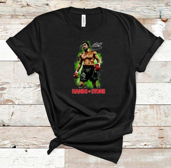 Premium Roberto Duran Hand Of Stone Signature shirt