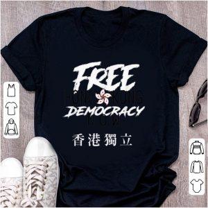 Pretty Free Hong Kong Democracy Now shirt