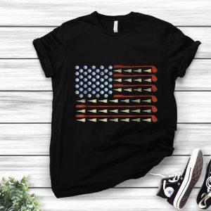 Pretty Golf American Flag shirt