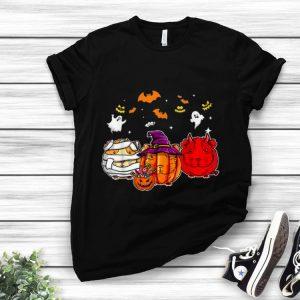 Pretty Guinea Pigs Pumpkins happy halloween shirt
