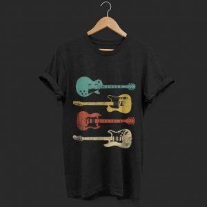 Pretty Vintage Electric Guitar Distressed shirt