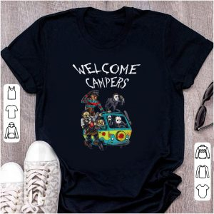 Pretty Welcome Campers Horror Movie shirt