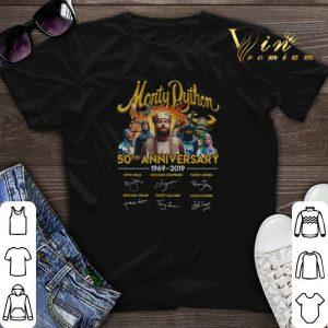 Signatures Monty Python 50th anniversary 1969-2019 shirt