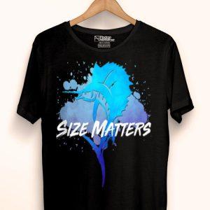 Size Matters Sport Fishing Fisherman Sailfish Dad Tank Top shirt