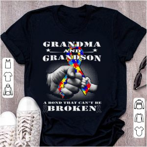Top Grandma And grandson A Bond That Can't Be Broken shirt