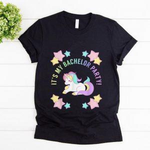 Top It's My bachelor Party Unicorn shirt