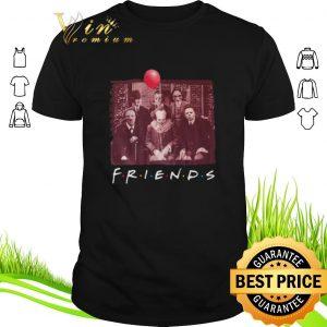 Top Jigsaw Friends TV Show Horror movie characters shirt sweater