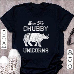 Top Save The Chubby Unicorns shirt