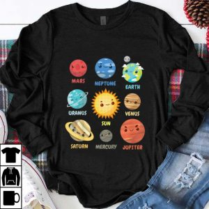 Top Solar System Planets shirt