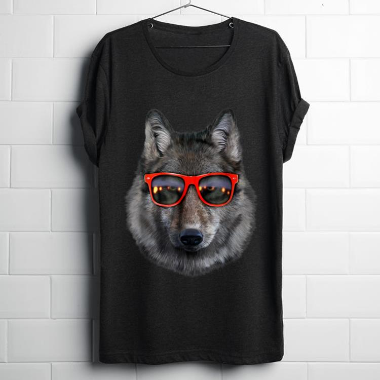 Top Wolf in Retro Sunglass Frame shirt 1 - Top Wolf in Retro Sunglass Frame shirt
