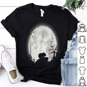 Awesome Guinea Pig And Moon Halloween shirt