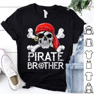 Awesome Pirate Brother Jolly Roger Flag Skull & Crossbones shirt