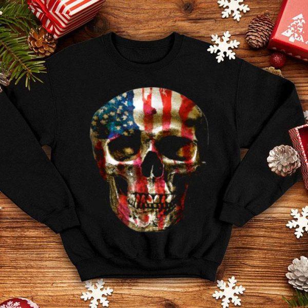 Awesome Usa Vintage Flag Skull shirt