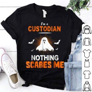 Beautiful Custodian Halloween School Or Workplace shirt