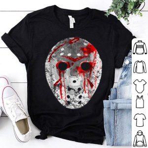 Beautiful Friday 13TH Jason Bloody Mask Halloween shirt