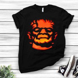 Frankenstein Carved Pumpkin Halloween shirt