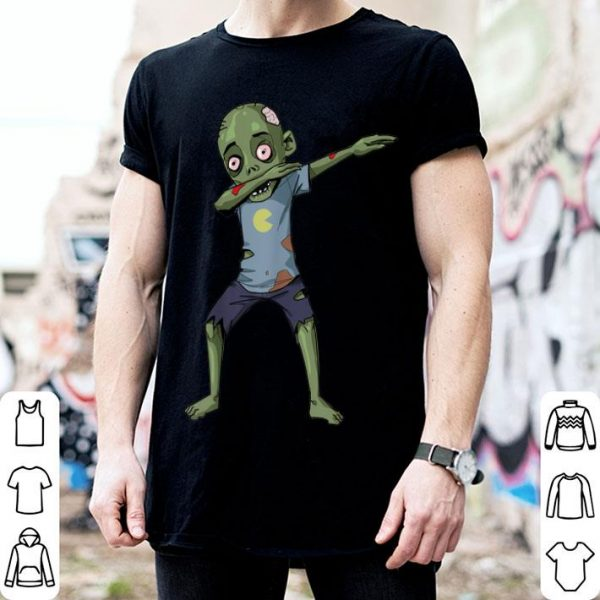 Funny Dabbing Zombie Halloween - Dab Funny Zombies shirt