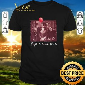 Hot Halloween Freddy Krueger Friends TV Show Horror film characters shirt