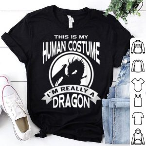 I'm Really A Dragon This Is My Human Costume shirt