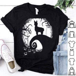 Llamas And Moon Halloween Costume shirt