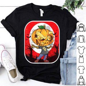 Nice Pumpkin Funny Scary Cute Cartoon Halloween shirt
