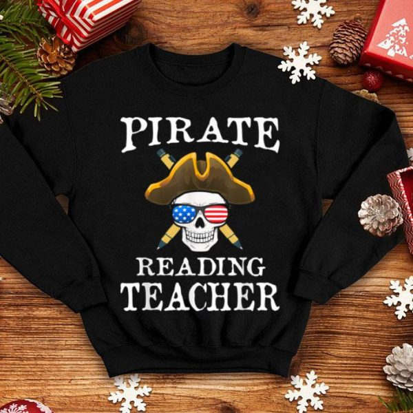 Official Reading Teacher Halloween Party Costume Gift shirt