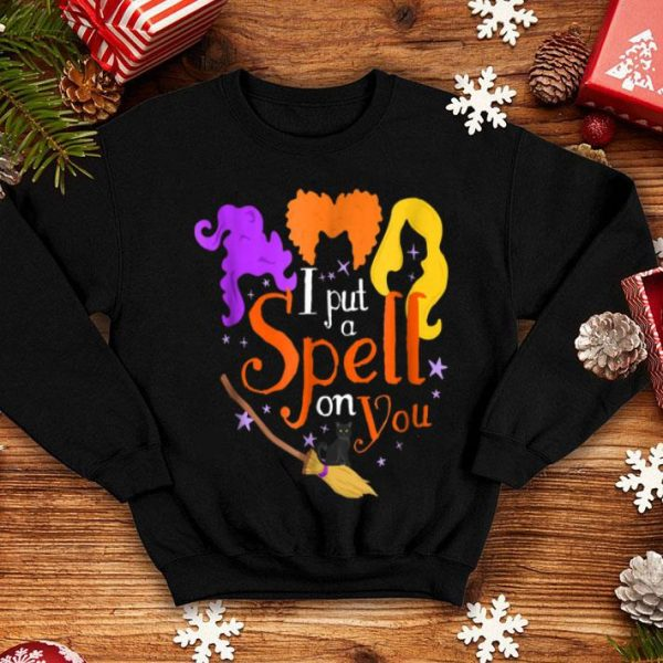Premium I Put A Spell on You Halloween Witch Movie shirt